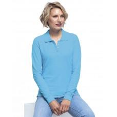 Жіноча сорочка-поло з довгими рукавами JHK POLO REGULAR LADY LS